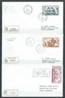 TAAF 1974/75 . Lot De 3 Lettres . - Terres Australes Et Antarctiques Françaises (TAAF)