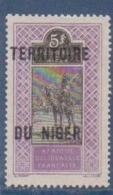 NIGER        N°  YVERT  :  17     NEUF AVEC  CHARNIERES      ( Ch 1/26  ) - Unused Stamps