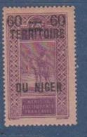 NIGER        N°  YVERT  :  21    NEUF AVEC  CHARNIERES      ( Ch 1/26  ) - Unused Stamps
