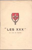 Brochure Magazine Musique  - Le Cercle Choral - Les XXX - De Lille En Flandre - 1908 - 1943 - Musique