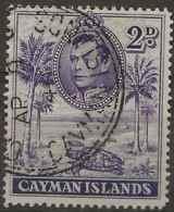 Cayman Islands, 1938, SG 119a, Used (Perf: 14) - Cayman Islands