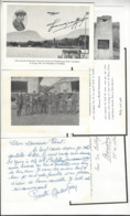 RENE GRANDJEAN SUISSE AVIATION DIVERS DOCUMENTS /FREE SHIPPING REGISTERED - Vieux Papiers