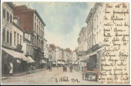 MECHELEN - MALINES - Rue De Bruel 1902 (Zeldzame Ingekleurde Sugg Kaart) - Malines