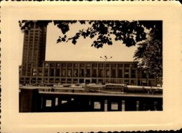 PHOTO AMATEUR 11/8 CM...LE HAVRE 1960   LA MAIRIE   DOS VIERGE - Lieux