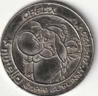 Rare Lot De 5 Euro Sesterces Astérix Et Obélix 1999 - Objets Publicitaires