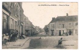 D 53 - Cpa - LA  CHAPELLE Au   RIBOUL - ROUTE DE HORPS   - 6328  CH - Autres Communes