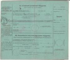 Hungary / Post Office Stationery - Hungary