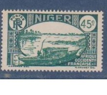 NIGER        N°  YVERT  :    76     NEUF AVEC  CHARNIERES      ( Ch 1/29  ) - Unused Stamps
