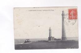 CPA DPT 29 , L ABERVRACH, LE PHARE DE L ILE VIERGE En 1908! - France
