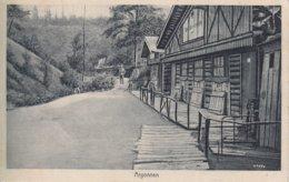 CPA - GUERRE 14-18 - CARTE ALLEMANDE - ARGONNE - BARAQUEMENTS - Guerra 1914-18