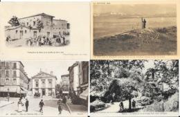 Lot N° 94 - 100 Cartes Du Département De L'Ain (01) - Villes, Villages, Barrages, Quelques Animations - Cartes Postales
