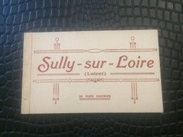 CARNET DE 20 CARTES POSTALES SULLY SUR LOIRE - Sully Sur Loire