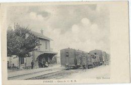 [51] Marne > Fismes  Gare De C.B.R. - Fismes