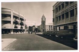 Carte  Photo - BEIRA - Moçanbique - Voitures Anciennes - Immeubles - Place - église    - 6334  CH - Mozambique