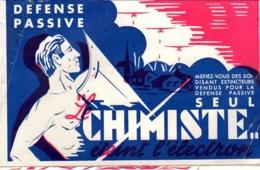 """1937 - DEPLIANT 8 Pages EXTINCTEURS """"LE CHIMISTE"""" Défense Passive + TARIF - Autres"""