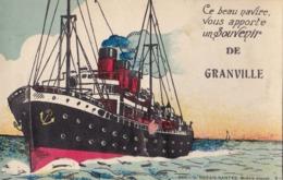 Granville Et Son Petit Depliant   De 10 Petite Vue Voir Scan - Granville