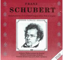 CD N°876 - FRANZ SCHUBERT - SYMPHONIE N°5 ET N°8 - COMPILATION - Classique