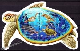 New Caledonia - Nouvelle Calédonie 2002 Yvert BF-27 Sea Turtles, Fauna - MNH - Blocks & Kleinbögen