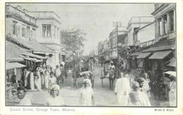 MADRAS - Street Scene, George Town. - India