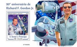 Sao Tome  2019   Astronaut  ,Richard F. Gordon,  ,space S201908 - Sao Tome Et Principe