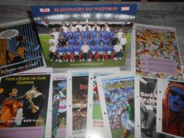 Lot FOOTBALL : CALENDRIER 2008 + 10 Fiches  Champions De Légendes ZOFF,PLATINI,RUMMENIGGE,MULLER,BECKENBAUER+ Quiz Etc.. - Voetbal