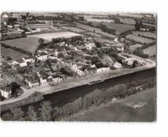 44 Blain Vue Aerienne Du Port Sur Le Canal De Nantes à Brest CPSM GF Cachet 1957 - Blain