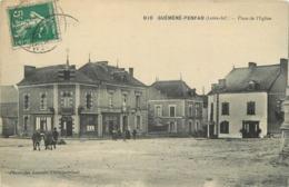 GUEMENE-PENFAO  - Place De L'église. - Guémené-Penfao