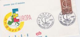 French Andorre 1966 FDC Europa CEPT (SKO16-41) - Europa-CEPT