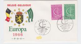 Belgium 1966 FDC Europa CEPT (SKO16-41) - Europa-CEPT