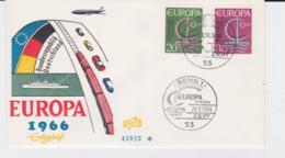 Germany 1966 FDC Europa CEPT (SKO16-41) - Europa-CEPT