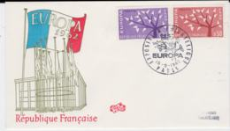 France 1962 FDC Europa CEPT (G99-51) - 1962