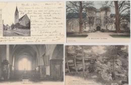 19 / 9 / 416  -MILLY - LA - FORÊT  ( 91 )  LOT  DE  8  CPA   &  I  CPSM   - Toutes Scanées - Cartes Postales