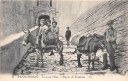¤¤   -  Types CORSES   -  Porteurs D'Eau  -  Région De BONOFACIO   -   Anes   -  ¤¤ - Non Classés