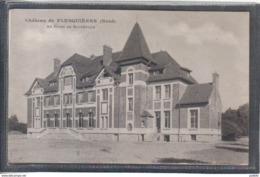 Carte Postale 59. Chateau De Flesquières  Au Baron De Bouteville  Très Beau Plan - Autres Communes