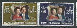 NOUVELLES-HEBRIDES N° 354/55 ** TB 3 - French Legend