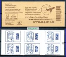 TIMBRE - FRANCE - 2016 - BC 1216A - Carnet Europe - Libretas