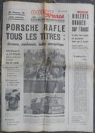 24 H Du Mans 1970.Porsche-Ferrari.Garçon Chute De Falaise à Colombelles.Isabelle Aubret,Alain Barrière. - Desde 1950