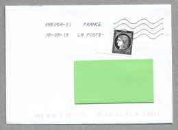 E55 - France 5305 De 2019 Sur Enveloppe Circulée - CERES - - France