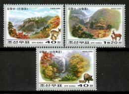 Korea North 2000 Corea / Animals Mammals Nature Landscapes MNH Naturaleza Mamíferos Fauna Säugetiere / Cu13032  38-17 - Sellos