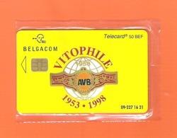 """PHONECARD - BELGIUM BELGACOM CP20 """"VITOPHILE"""" EX: 750 - MINT/SEALED - Mit Chip"""