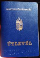 +++ Hungary - Passport Passeport 1998 Bfne Db01 - Documenti Storici
