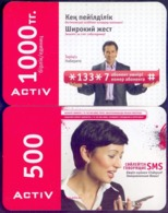 Used Phone Cards Kazakhstan 2V. - Kasachstan