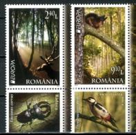 """ROMANIA 2011** - Europa 2011 """"Le Foreste"""" - 2 Val. MNH, Come Da Scansione. - 2011"""