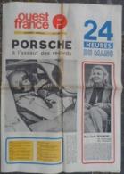 24 H Du Mans 1971.Porsche-Ferrari.Larousse-Pescarolo.Ligier,Matra.Marie-Claude Beaumont. - Journaux - Quotidiens