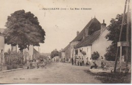 39 FOUCHERANS  La Rue D'Amont - Other Municipalities