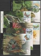 UKRAINE 2005 Mi 697MK-701MK Schmetterlinge / Butterflies - Vlinders