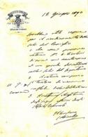 ** MUNICIPIO DI CAMAIORE.- 1890.- (LU).-** - Italia