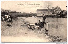 89 GUILLON - Un Coin De La Rivière (lavandière) - France