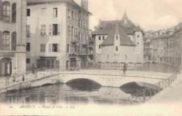 74 ANNECY PALAIS DE L'ILE PAS CIRCULEE - Annecy