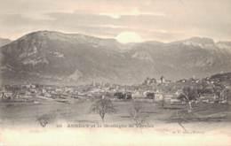 74 ANNECY ET LA MONTAGNE DE VEYRIER PAS CIRCULEE - Annecy